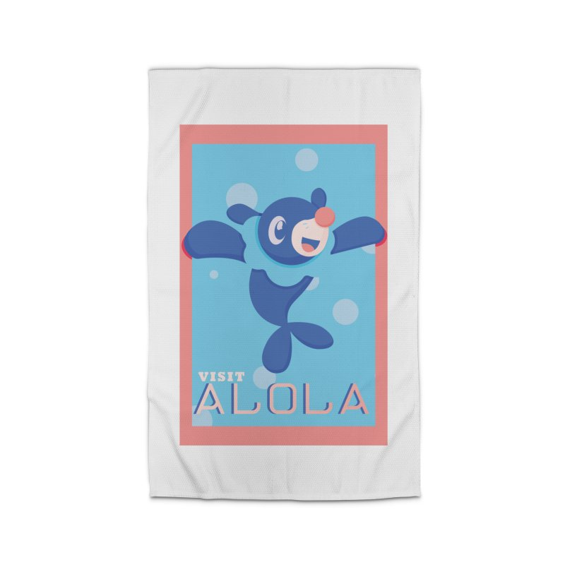 Visit Alola with Popplio ! Home Rug by jaredslyterdesign's Artist Shop