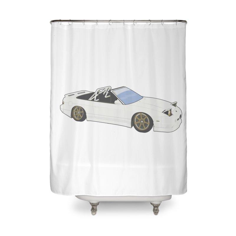 Surprise Me Home Shower Curtain by jaredslyterdesign's Artist Shop