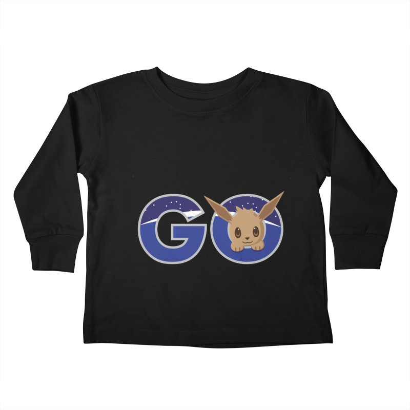 Oh the Places You'll Go ( with Eevee! ) Kids Toddler Longsleeve T-Shirt by jaredslyterdesign's Artist Shop