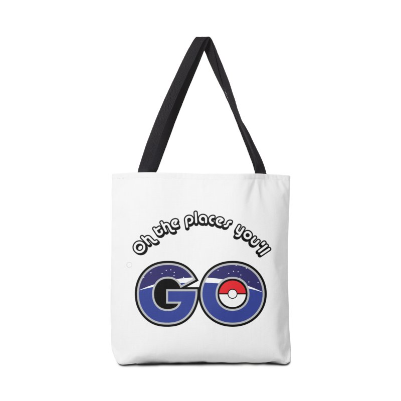 Oh the Places You'll Pokemon Go! Accessories Bag by jaredslyterdesign's Artist Shop