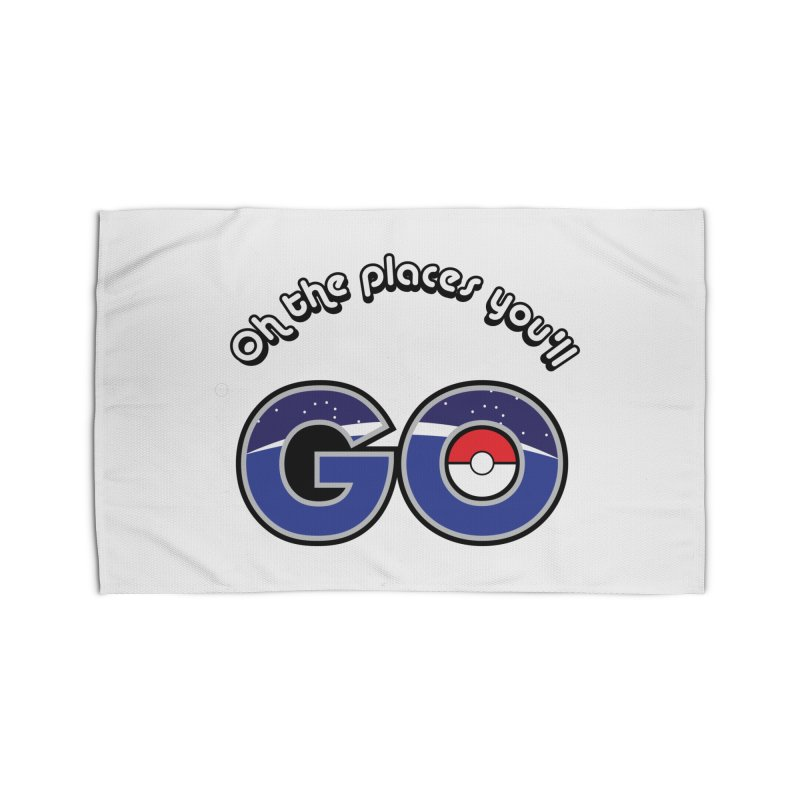 Oh the Places You'll Pokemon Go! Home Rug by jaredslyterdesign's Artist Shop