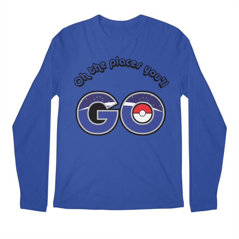 Oh the Places You'll Pokemon Go! Men's Longsleeve T-Shirt by jaredslyterdesign's Artist Shop