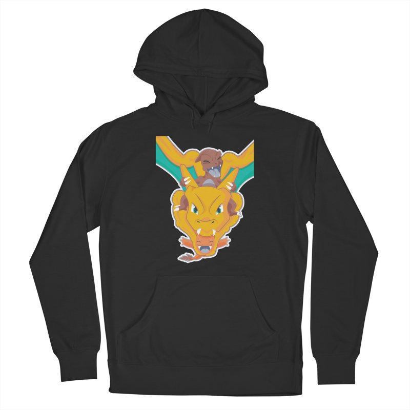 The Char Trio ( Charmander Charmeleon & Charizard) Men's French Terry Pullover Hoody by jaredslyterdesign's Artist Shop