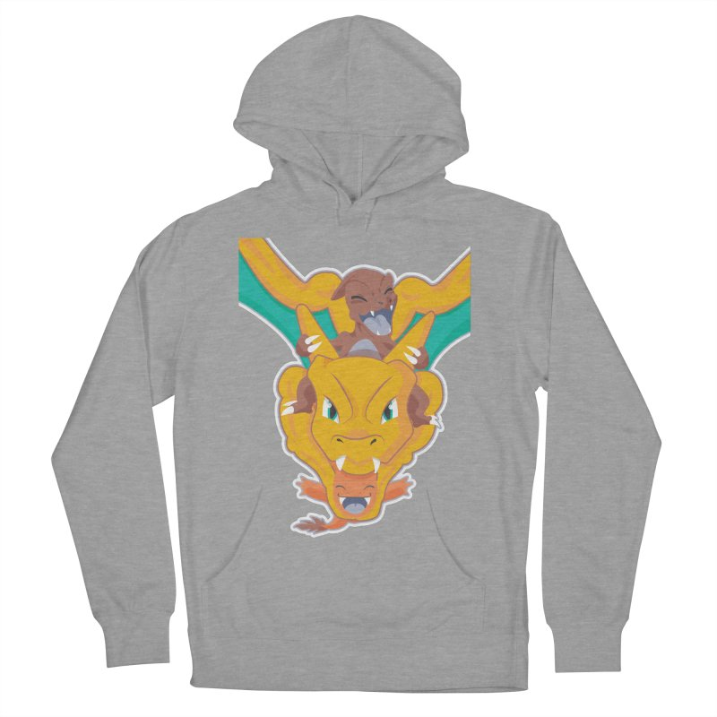 The Char Trio ( Charmander Charmeleon & Charizard) Women's French Terry Pullover Hoody by jaredslyterdesign's Artist Shop