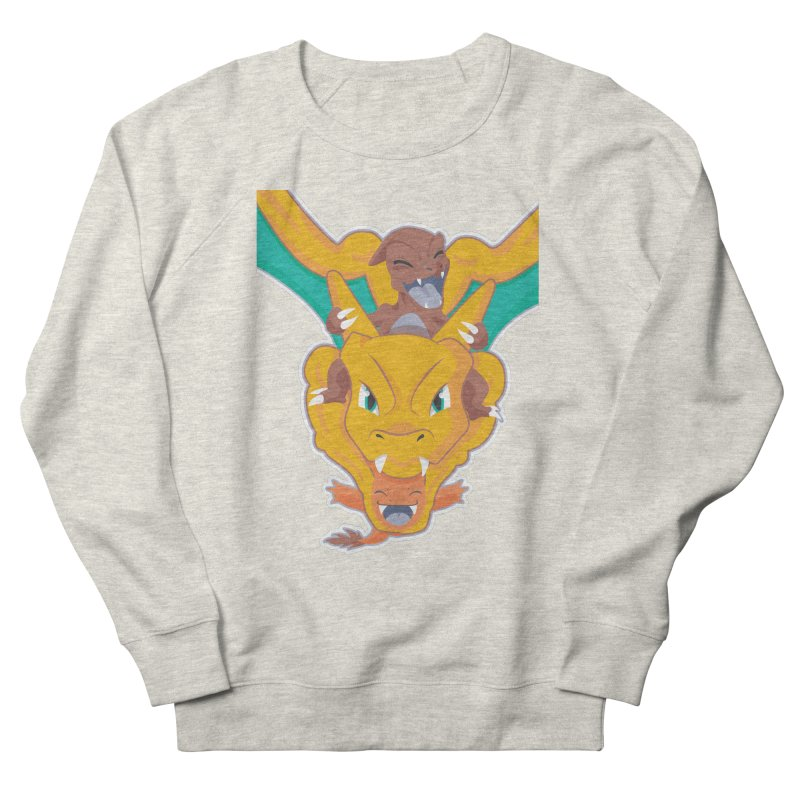 The Char Trio ( Charmander Charmeleon & Charizard) Women's Sweatshirt by jaredslyterdesign's Artist Shop