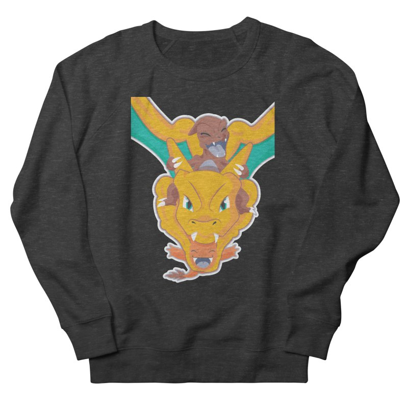 The Char Trio ( Charmander Charmeleon & Charizard) Men's Sweatshirt by jaredslyterdesign's Artist Shop