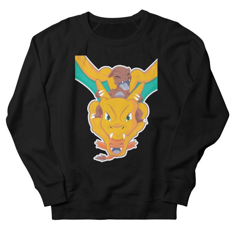 The Char Trio ( Charmander Charmeleon & Charizard) Men's French Terry Sweatshirt by jaredslyterdesign's Artist Shop