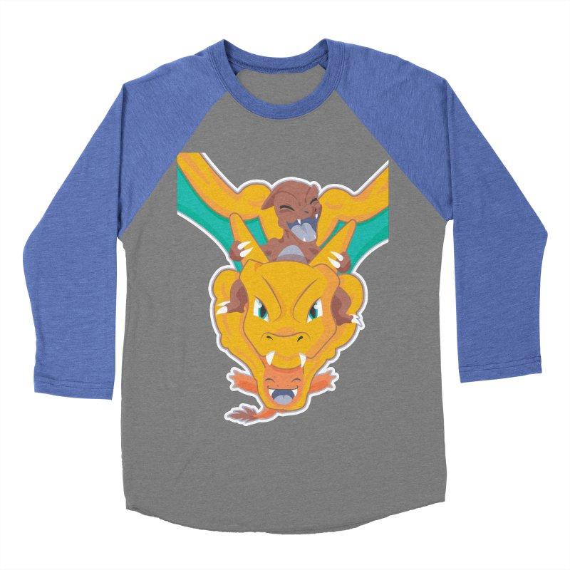 The Char Trio ( Charmander Charmeleon & Charizard) Women's Baseball Triblend T-Shirt by jaredslyterdesign's Artist Shop