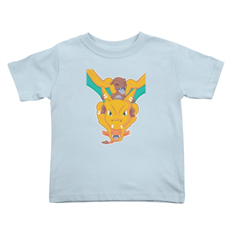 The Char Trio ( Charmander Charmeleon & Charizard) Kids Toddler T-Shirt by jaredslyterdesign's Artist Shop