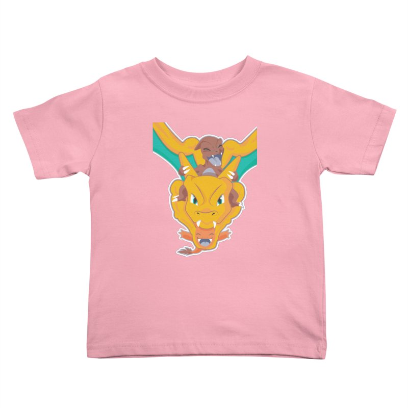 The Char Trio ( Charmander Charmeleon & Charizard) Kids Toddler T-Shirt by jaredslyterdesign's Artist Shop