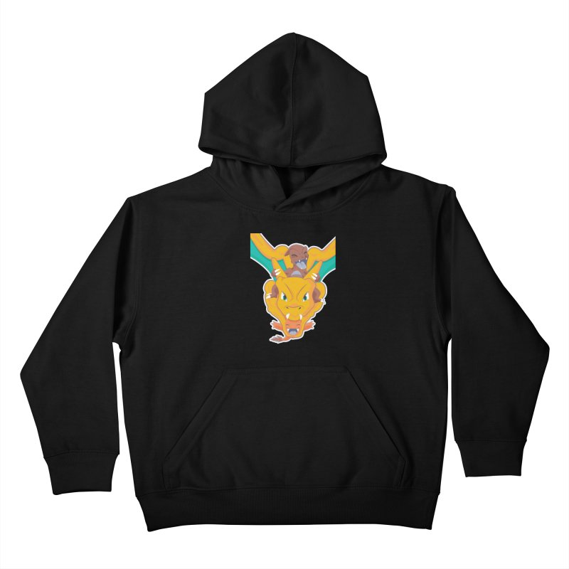 The Char Trio ( Charmander Charmeleon & Charizard) Kids Pullover Hoody by jaredslyterdesign's Artist Shop