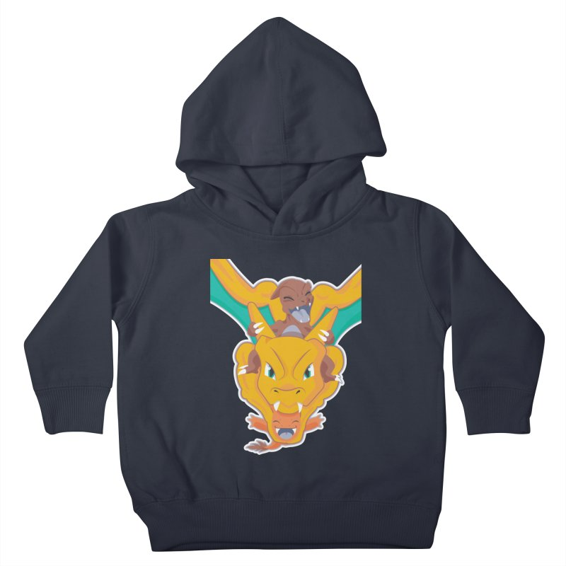 The Char Trio ( Charmander Charmeleon & Charizard) Kids Toddler Pullover Hoody by jaredslyterdesign's Artist Shop