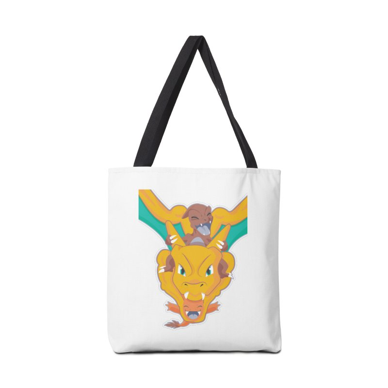 The Char Trio ( Charmander Charmeleon & Charizard) Accessories Bag by jaredslyterdesign's Artist Shop
