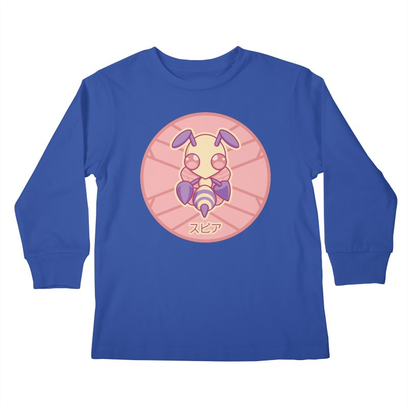 Beedrill #15 Kids Longsleeve T-Shirt by jaredslyterdesign's Artist Shop