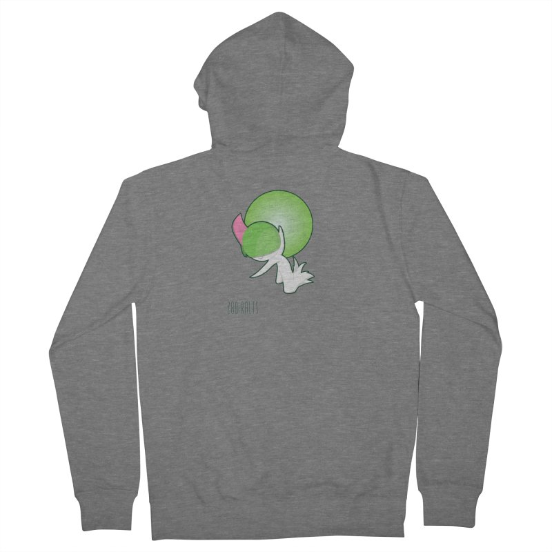 Ralts Women's French Terry Zip-Up Hoody by jaredslyterdesign's Artist Shop