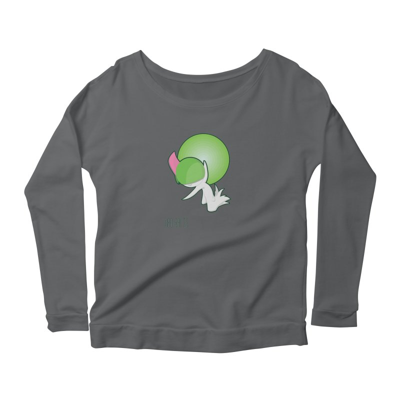Ralts Women's Scoop Neck Longsleeve T-Shirt by jaredslyterdesign's Artist Shop