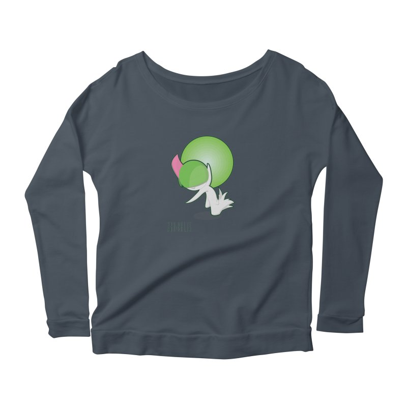 Ralts Women's Longsleeve Scoopneck  by jaredslyterdesign's Artist Shop
