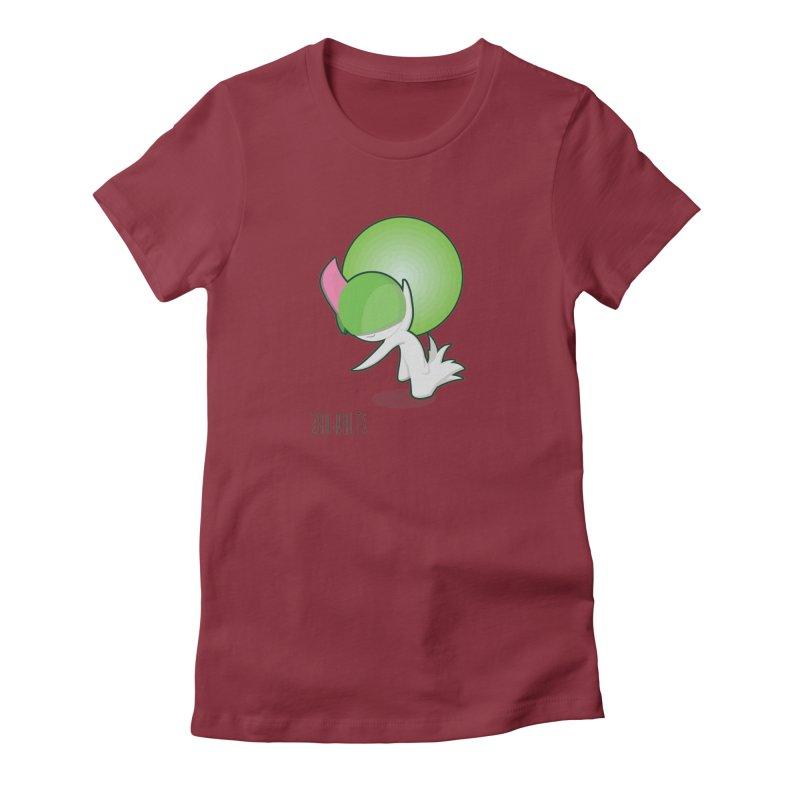 Ralts Women's Fitted T-Shirt by jaredslyterdesign's Artist Shop