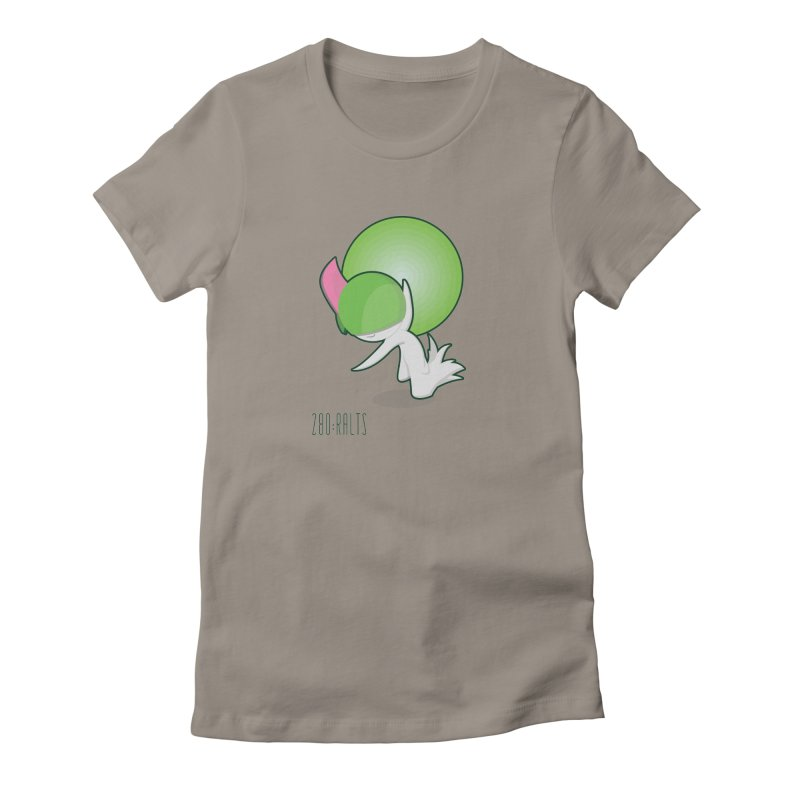 Ralts Women's Fitted T-Shirt by jaredslyterdesign's Artist Shop