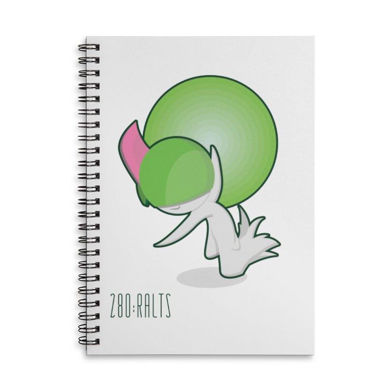 Ralts Accessories Notebook by jaredslyterdesign's Artist Shop