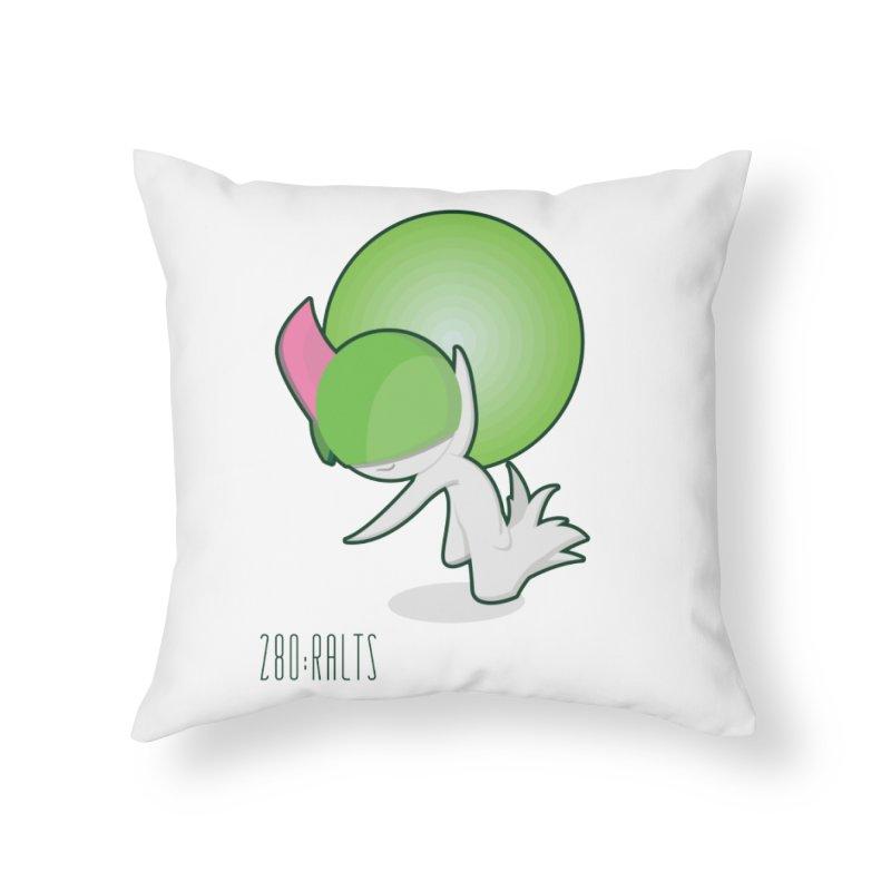 Ralts Home Throw Pillow by jaredslyterdesign's Artist Shop