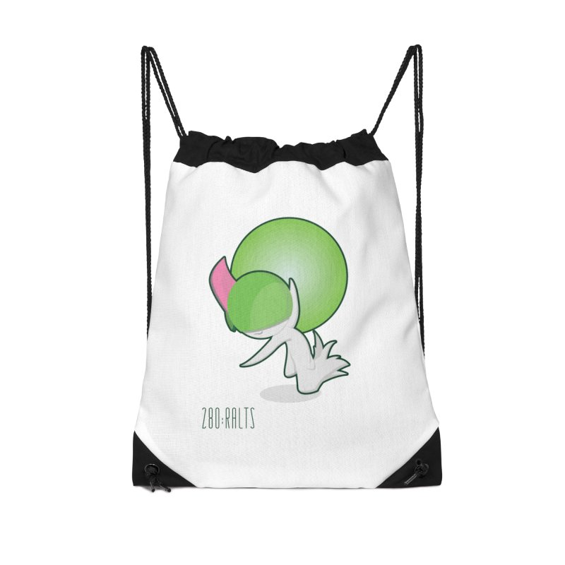 Ralts Accessories Drawstring Bag Bag by jaredslyterdesign's Artist Shop