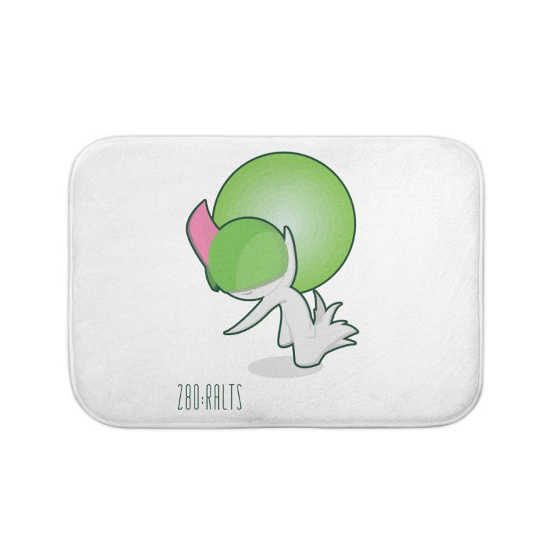 Ralts Home Bath Mat by jaredslyterdesign's Artist Shop