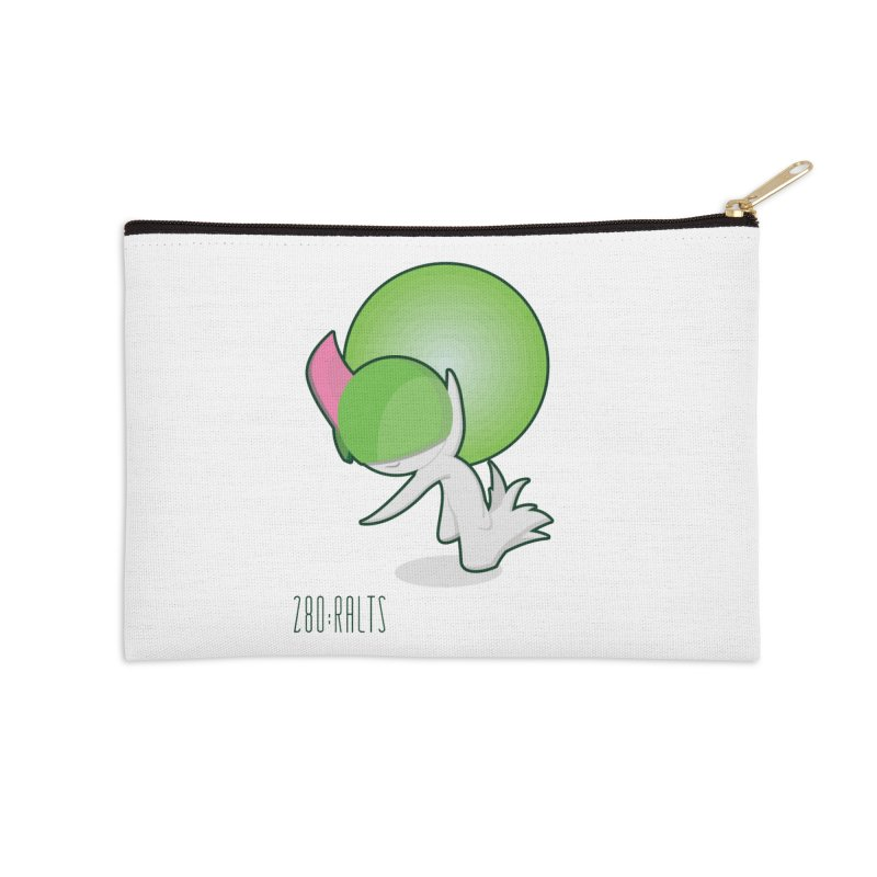 Ralts Accessories Zip Pouch by jaredslyterdesign's Artist Shop