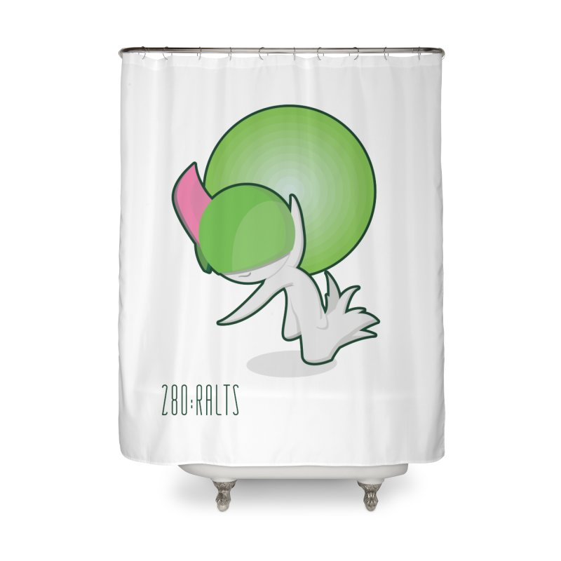 Ralts Home Shower Curtain by jaredslyterdesign's Artist Shop