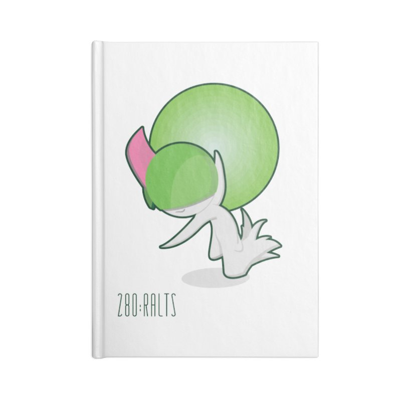 Ralts Accessories Blank Journal Notebook by jaredslyterdesign's Artist Shop