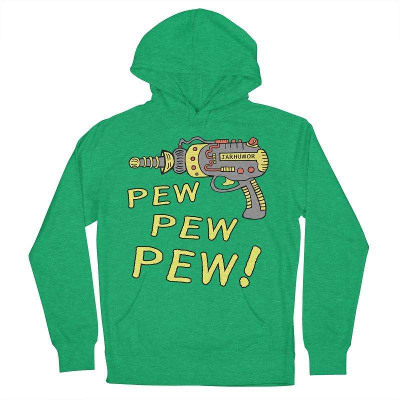 Pew Pew Pew Men's Pullover Hoody by James A. Roberson (JARHUMOR)