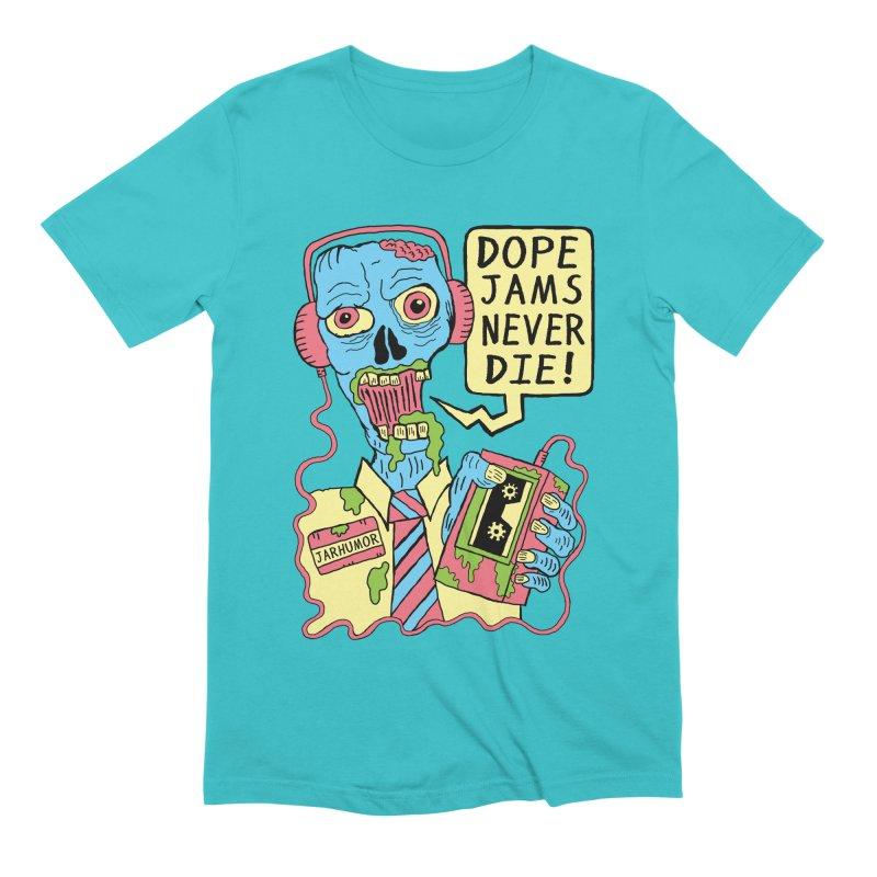 Dope Jams Zombie Men's Extra Soft T-Shirt by JARHUMOR