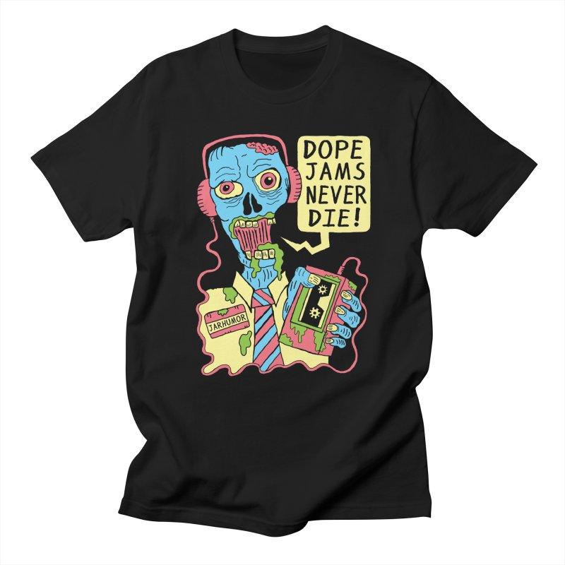 Dope Jams Zombie Men's T-Shirt by JARHUMOR