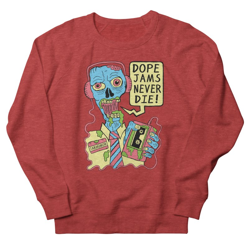 Dope Jams Zombie Women's Sweatshirt by James A. Roberson (JARHUMOR)