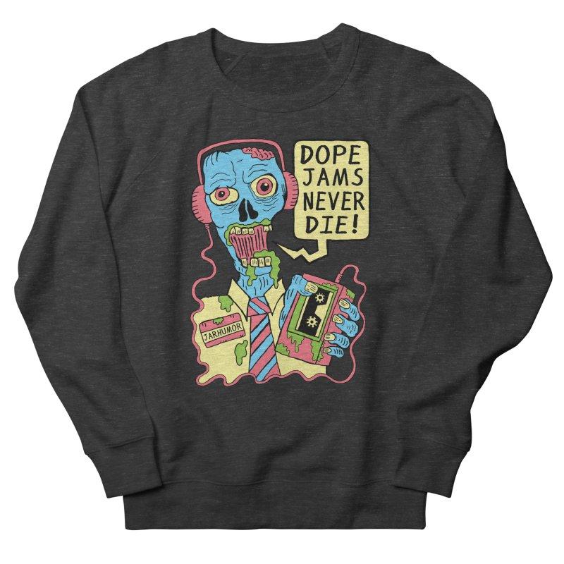 Dope Jams Zombie Men's Sweatshirt by James A. Roberson (JARHUMOR)