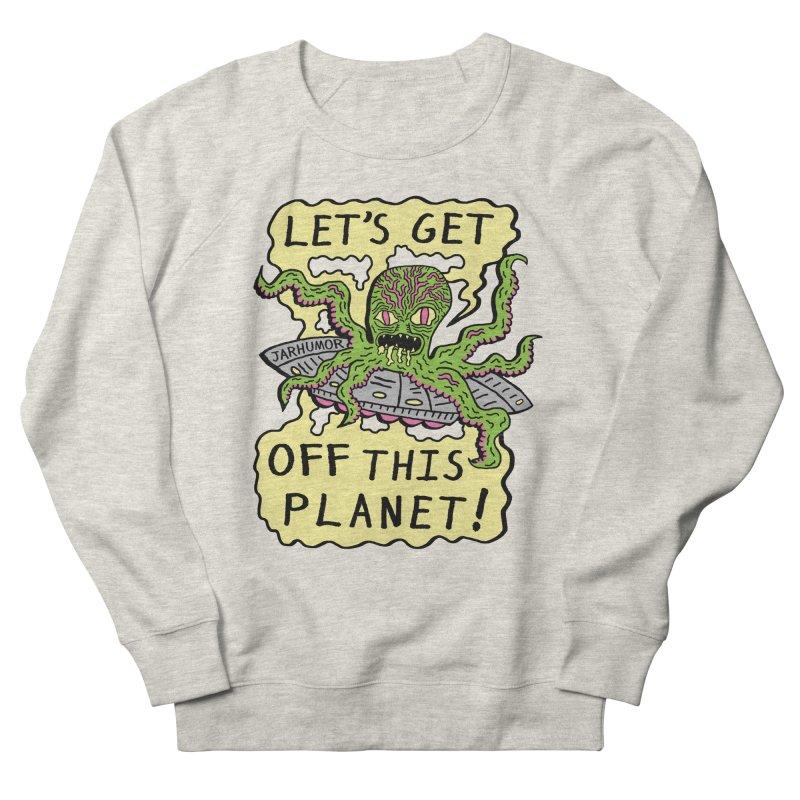 Alien UFO Escape Women's Sweatshirt by James A. Roberson (JARHUMOR)