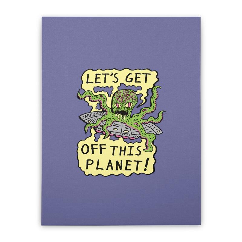 Alien UFO Escape   by James A. Roberson (JARHUMOR)