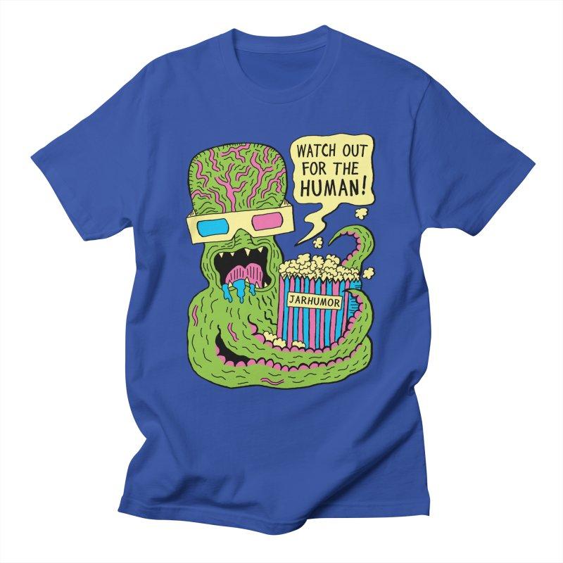 Alien Monster Movie Men's T-Shirt by JARHUMOR