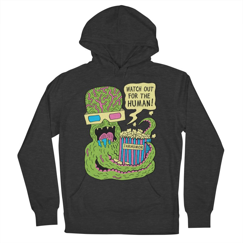 Alien Monster Movie Women's Pullover Hoody by James A. Roberson (JARHUMOR)