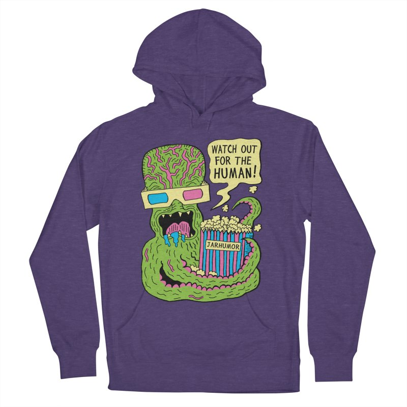 Alien Monster Movie Men's Pullover Hoody by James A. Roberson (JARHUMOR)