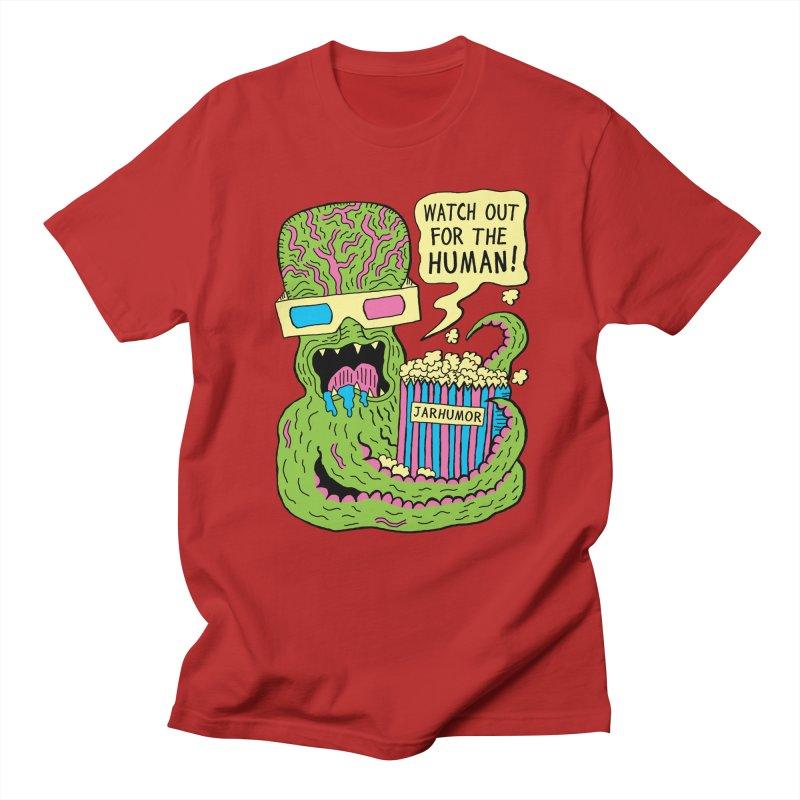 Alien Monster Movie Men's T-shirt by James A. Roberson (JARHUMOR)