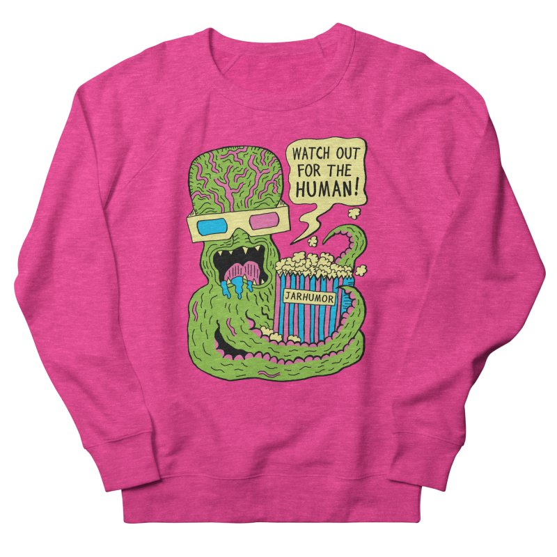 Alien Monster Movie Women's Sweatshirt by James A. Roberson (JARHUMOR)