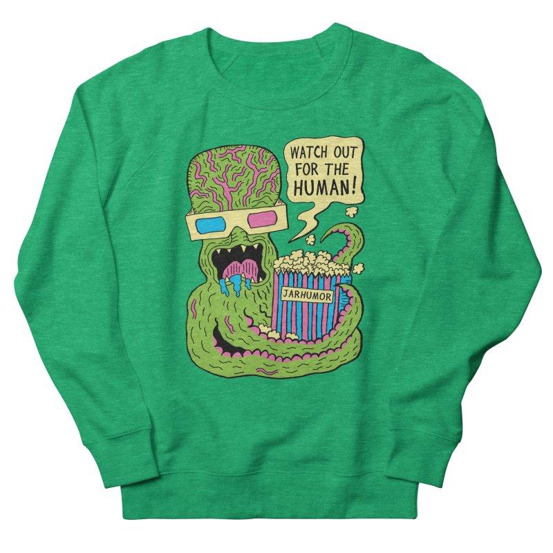 Alien Monster Movie Men's Sweatshirt by James A. Roberson (JARHUMOR)