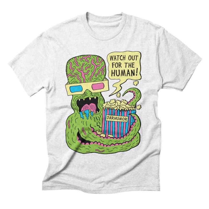 Alien Monster Movie Men's Triblend T-shirt by James A. Roberson (JARHUMOR)