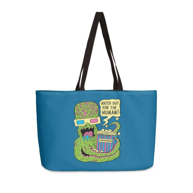 Alien Monster Movie Accessories Weekender Bag Bag by JARHUMOR