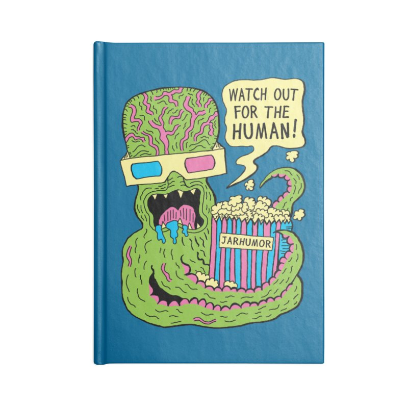 Alien Monster Movie Accessories Blank Journal Notebook by JARHUMOR