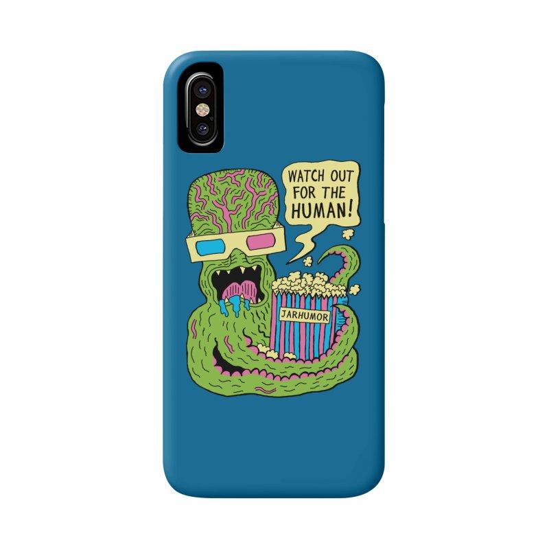 Alien Monster Movie Accessories Phone Case by James A. Roberson (JARHUMOR)