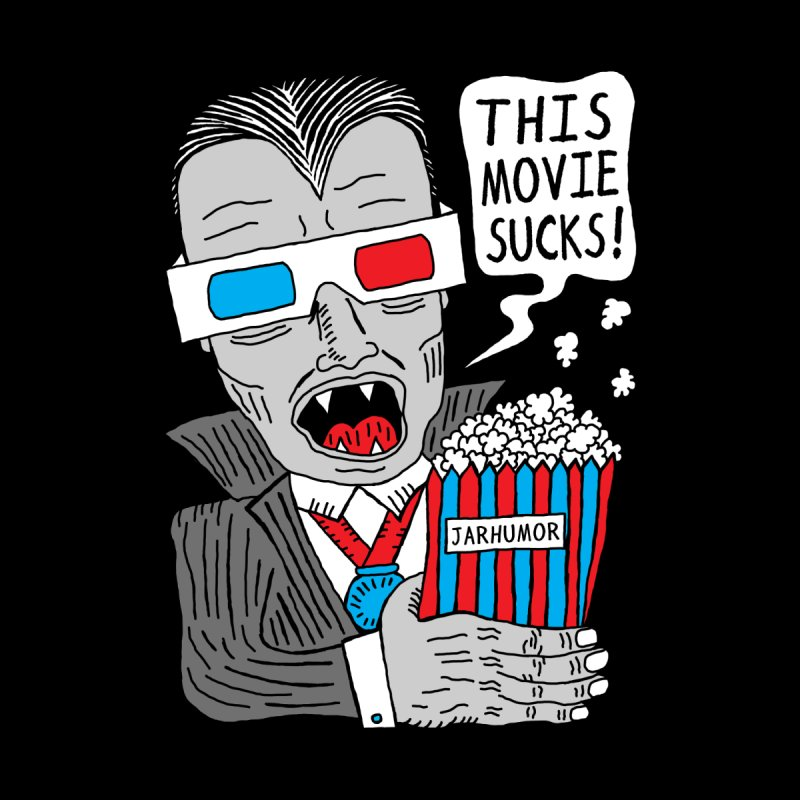 This Movie Sucks Men's T-Shirt by JARHUMOR