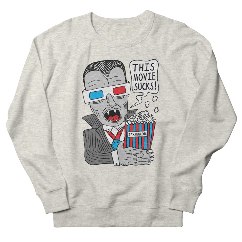 This Movie Sucks Men's Sweatshirt by JARHUMOR