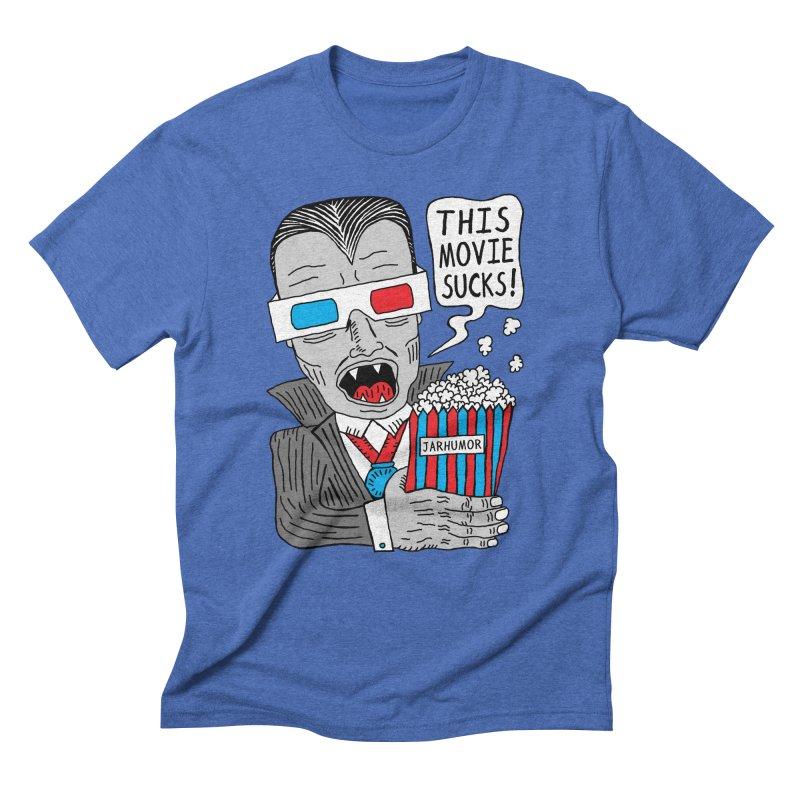 This Movie Sucks Men's Triblend T-Shirt by JARHUMOR